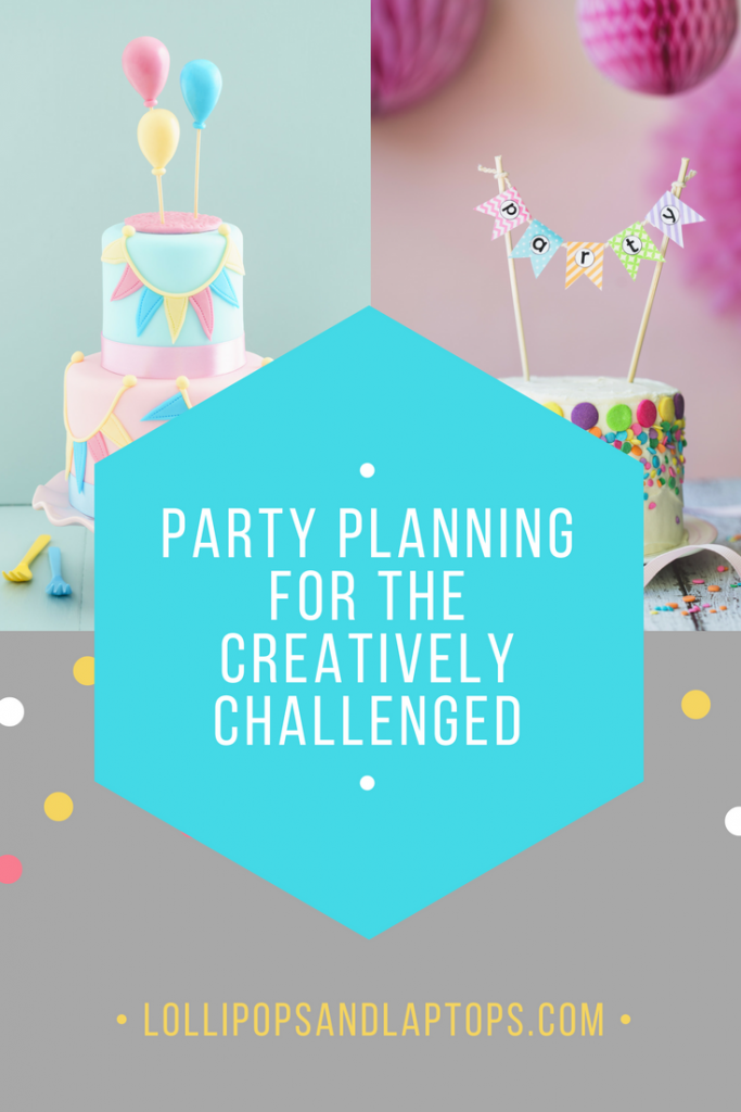 Party Planning for the Creatively Challenged - Lollipops & Laptops