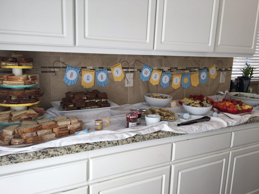 Party number two: Baby shower.