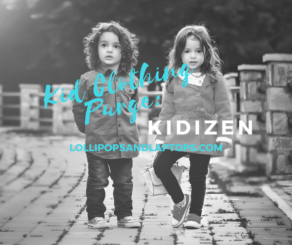 Kid Clothing Purge: Kidizen - Lollipops & Laptops