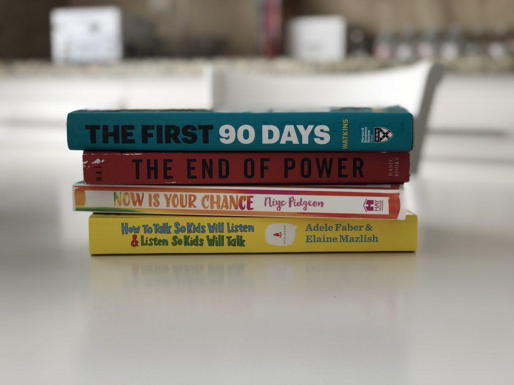Books on My Nightstand - Lollipops & Laptops