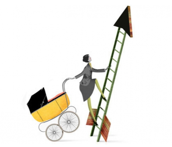 How a Working Mom Can Climb the Corporate Ladder